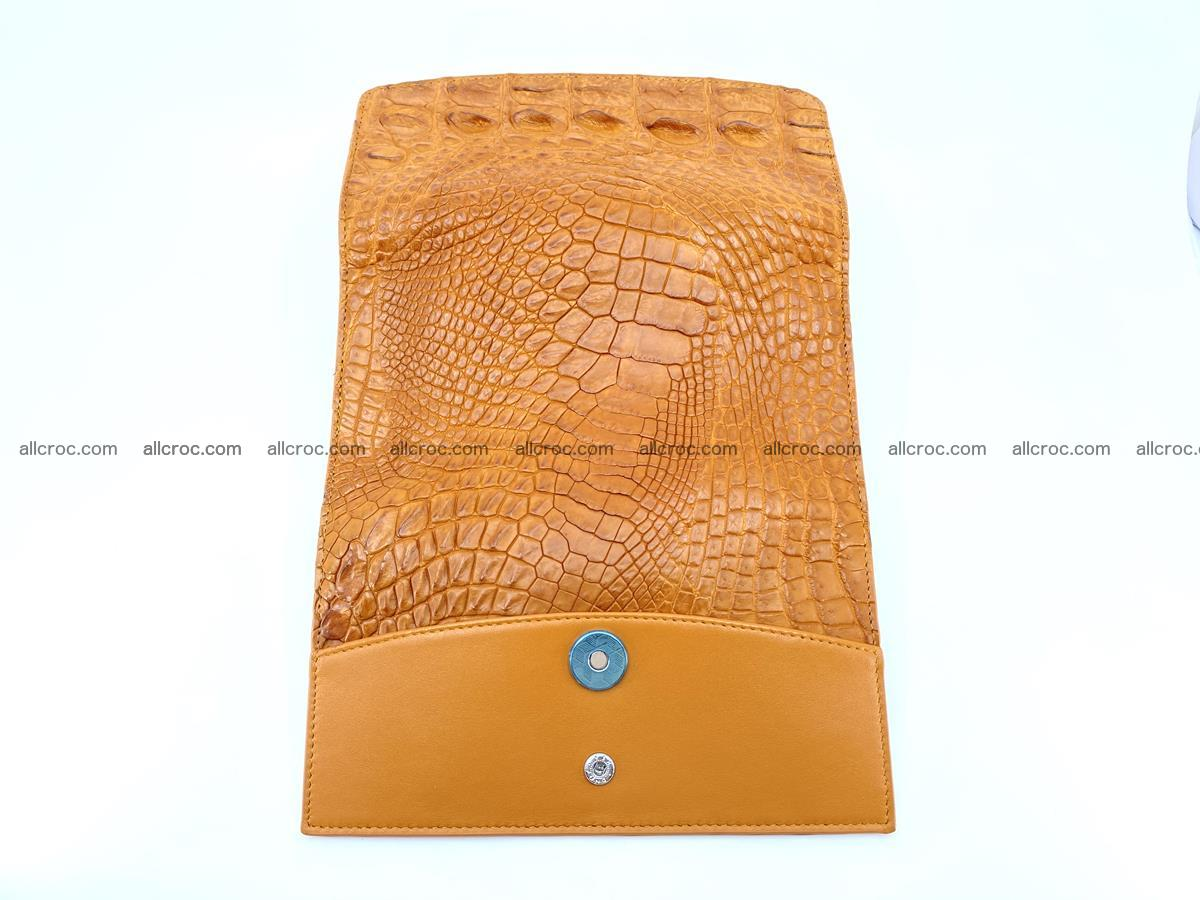 Genuine Crocodile skin trifold wallet, long wallet for women 480 Foto 9