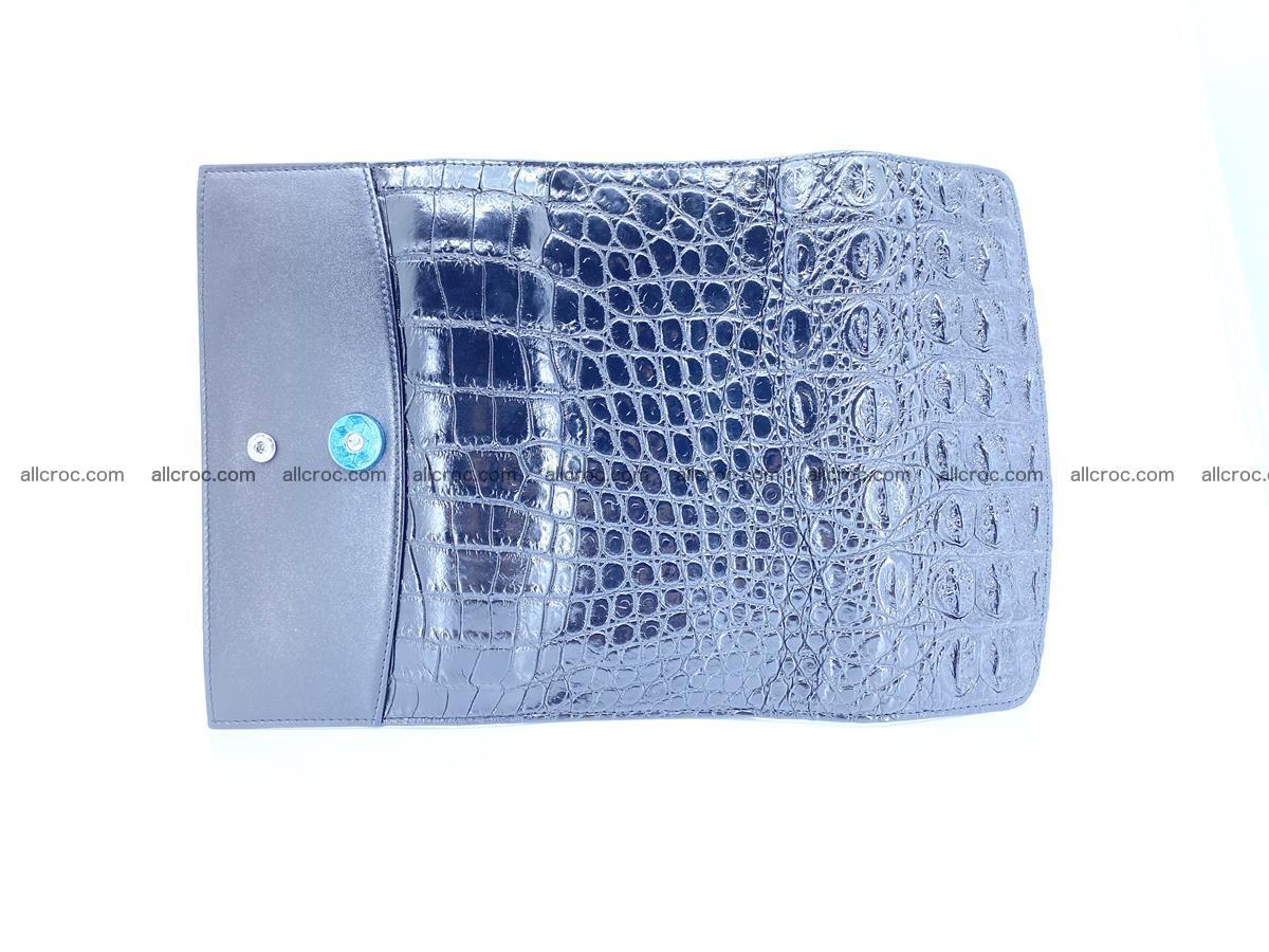 Genuine Crocodile skin trifold wallet, long wallet for women 466 Foto 10