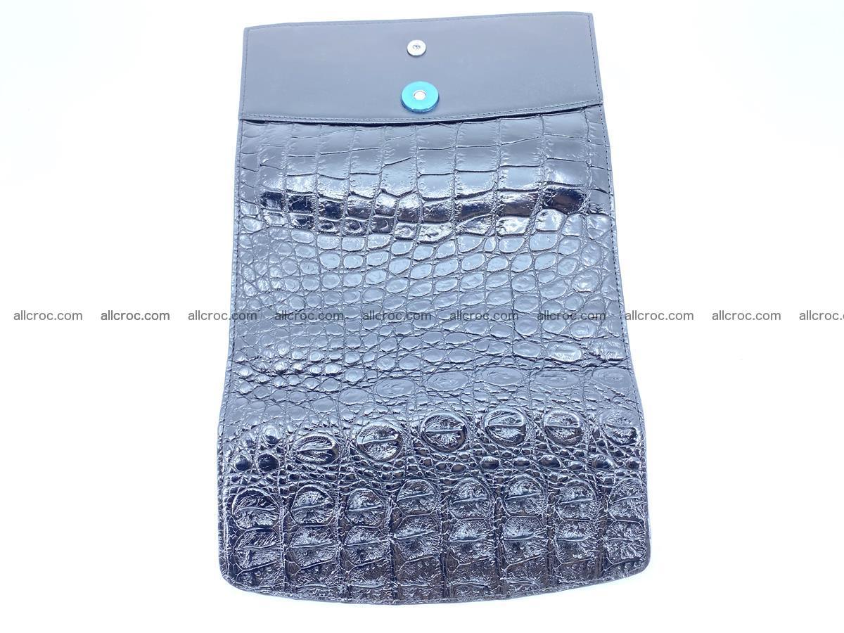 Genuine Crocodile skin trifold wallet, long wallet for women 466 Foto 11