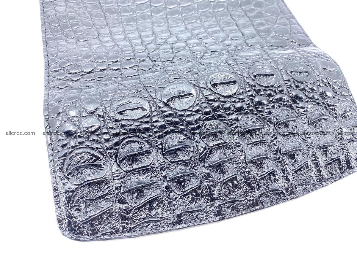 Genuine Crocodile skin trifold wallet, long wallet for women 466 Foto 5