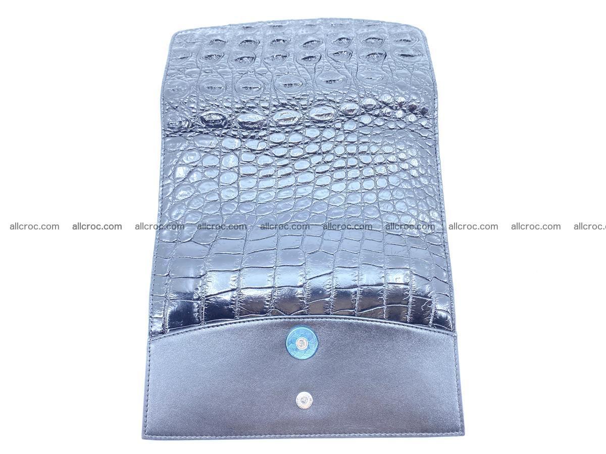 Genuine Crocodile skin trifold wallet, long wallet for women 466 Foto 12