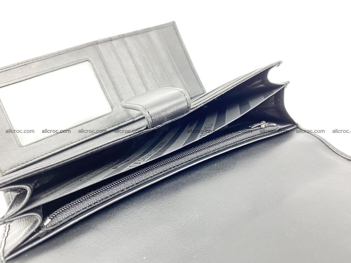 Genuine Crocodile skin trifold wallet, long wallet for women 466 Foto 8