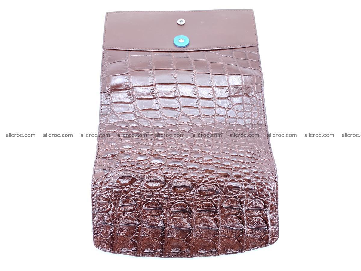 Genuine Crocodile skin trifold wallet, long wallet for women 462 Foto 10