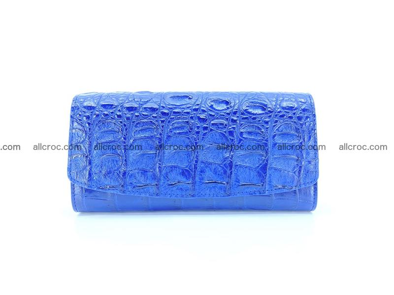 Genuine Crocodile skin trifold wallet, long wallet for women 470
