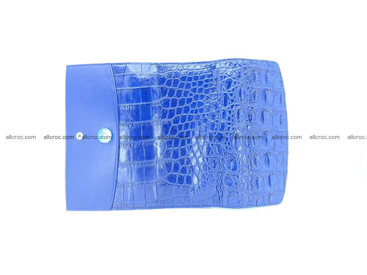 Genuine Crocodile skin trifold wallet, long wallet for women 470 Foto 8