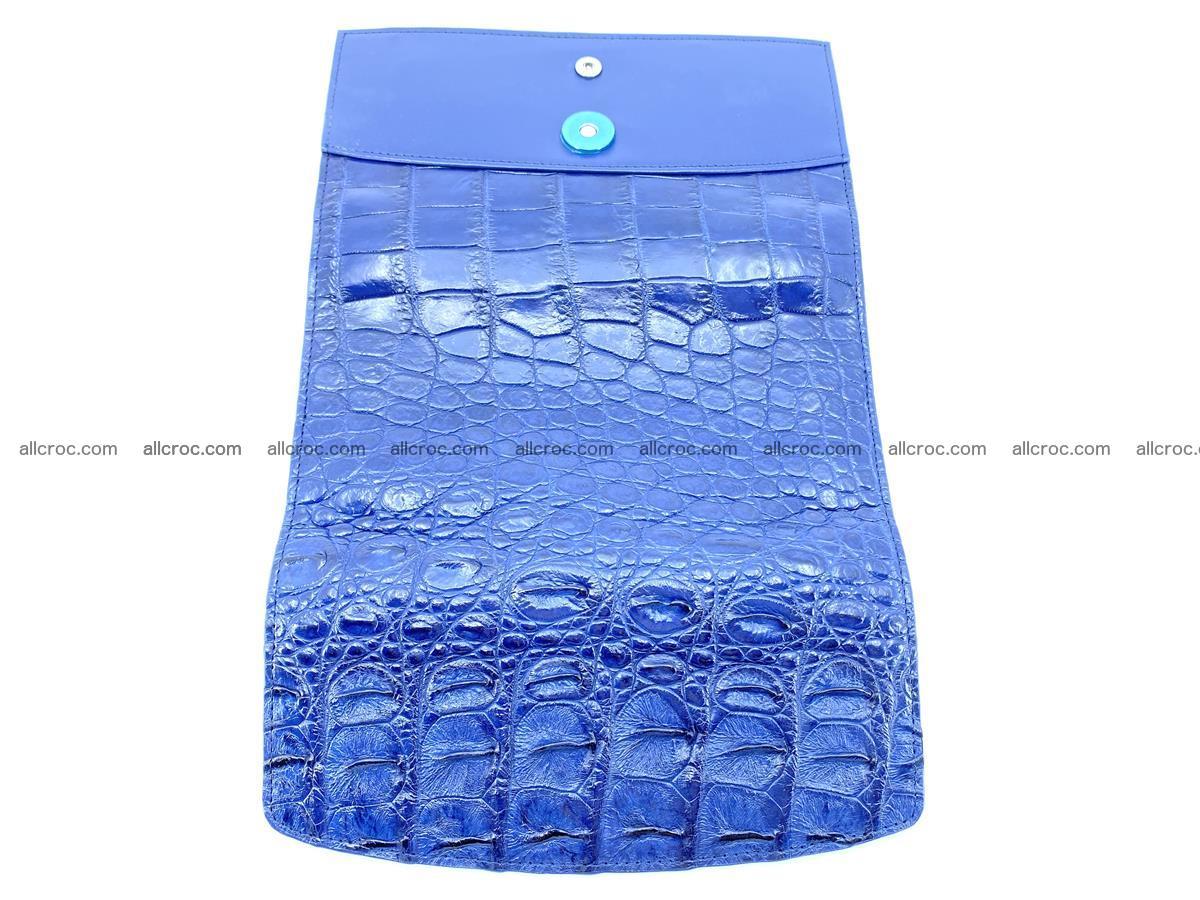 Genuine Crocodile skin trifold wallet, long wallet for women 470 Foto 9