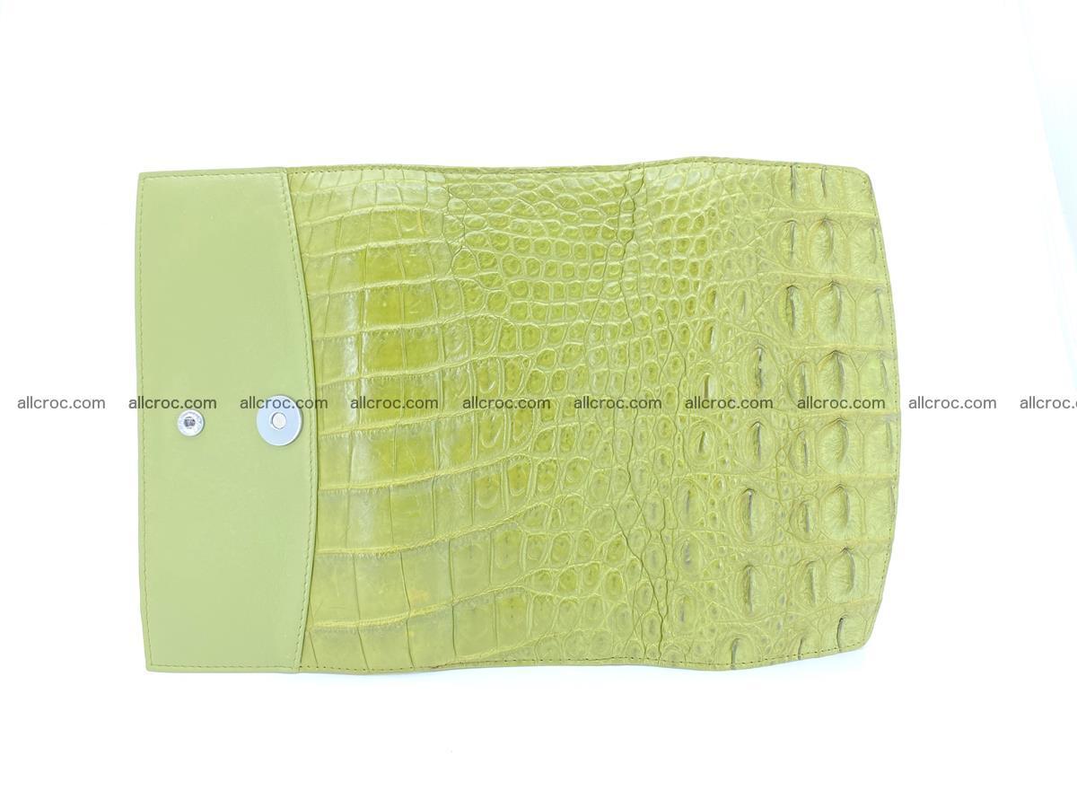 Genuine Crocodile skin trifold wallet, long wallet for women 482 Foto 9