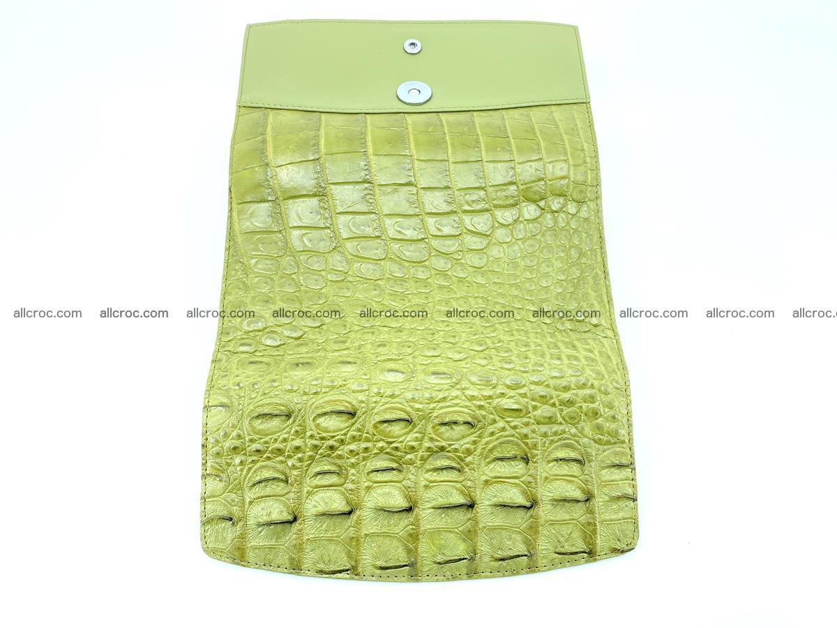 Genuine Crocodile skin trifold wallet, long wallet for women 482 Foto 8