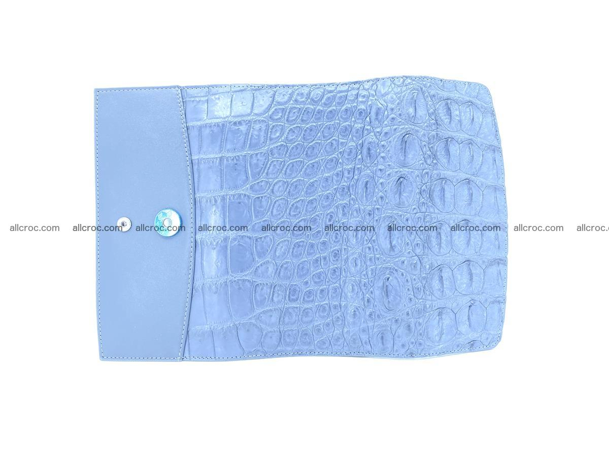 Genuine Crocodile skin trifold wallet, long wallet for women 473 Foto 9