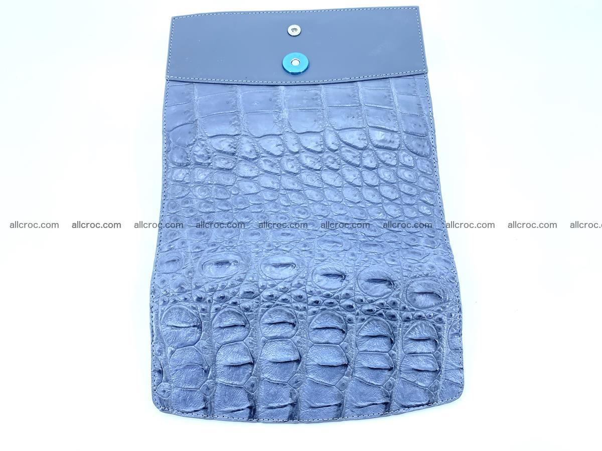 Genuine Crocodile skin trifold wallet, long wallet for women 473 Foto 8