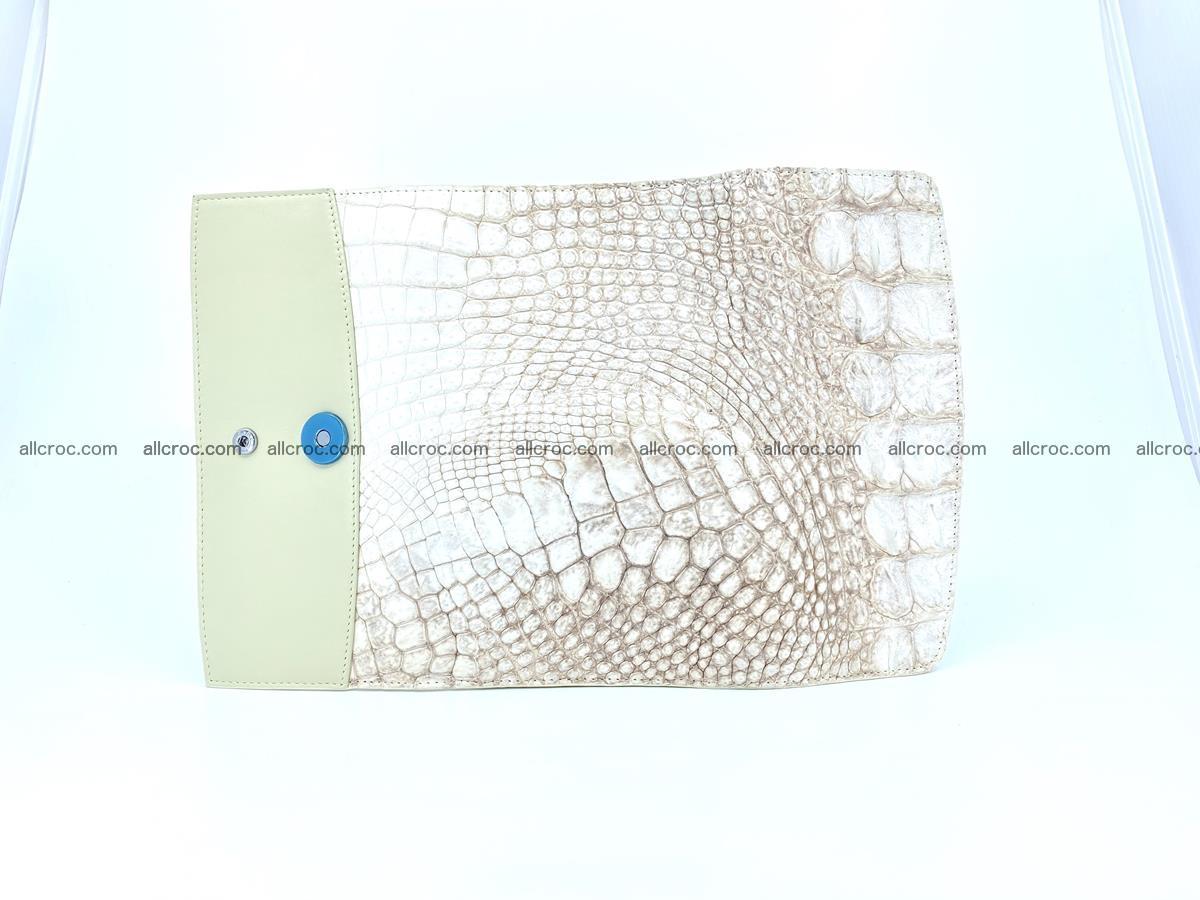 Genuine Crocodile skin trifold wallet, long wallet for women 458 Foto 7
