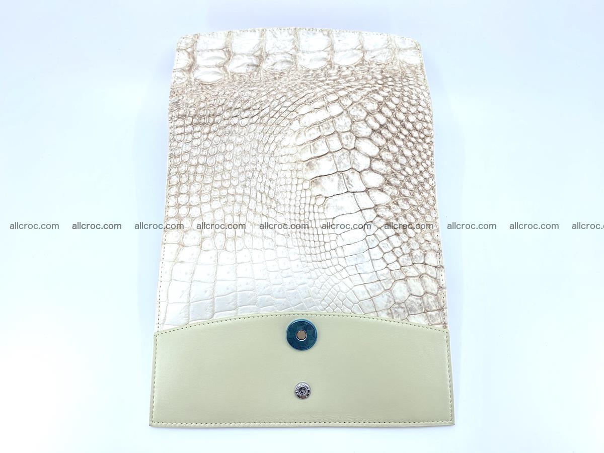 Genuine Crocodile skin trifold wallet, long wallet for women 458 Foto 8
