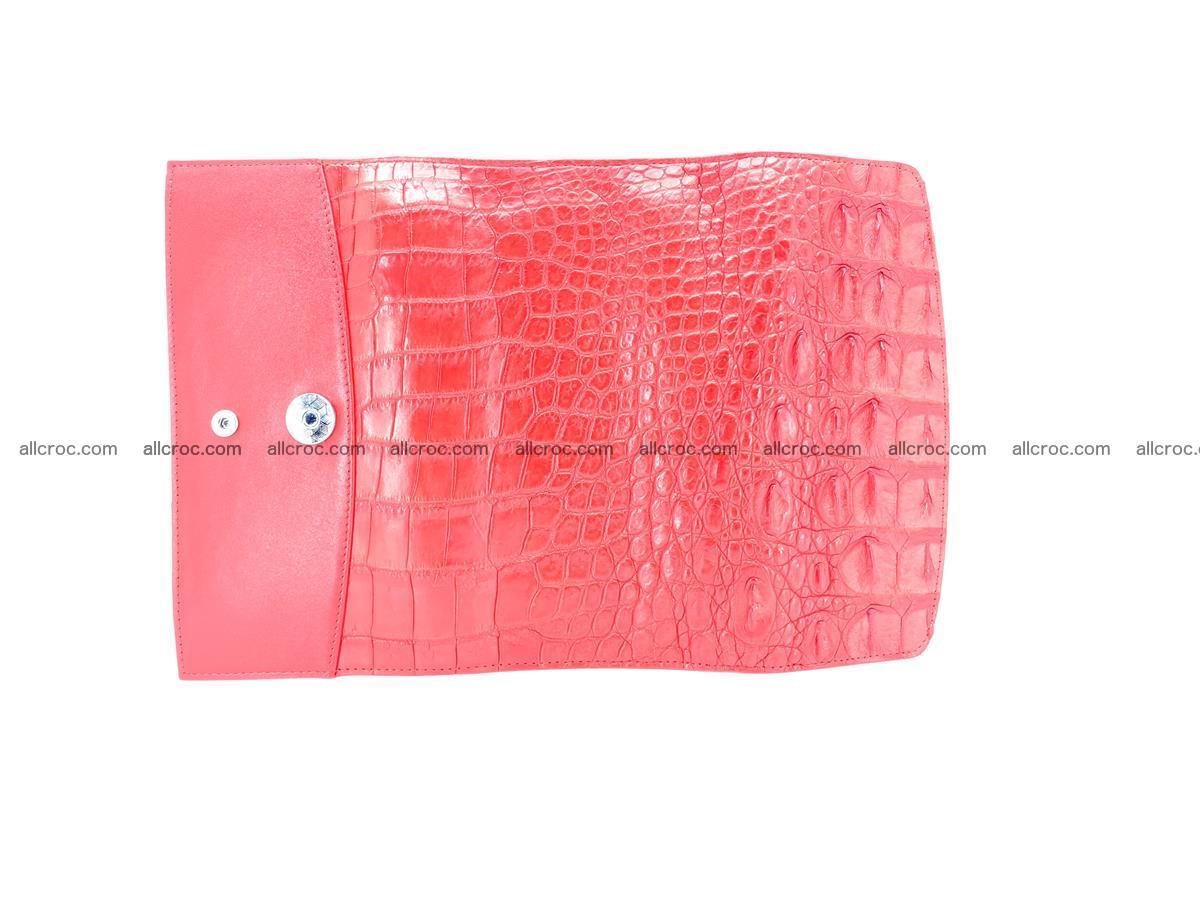 Genuine Crocodile skin trifold wallet, long wallet for women 454 Foto 8