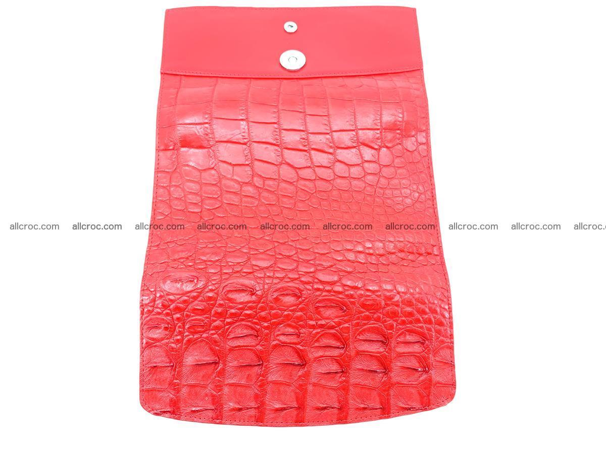 Genuine Crocodile skin trifold wallet, long wallet for women 454 Foto 9