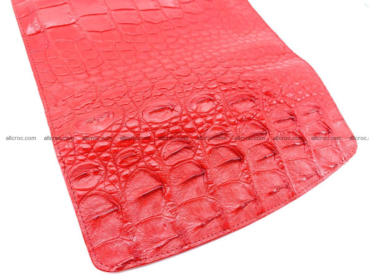 Genuine Crocodile skin trifold wallet, long wallet for women 454 Foto 4