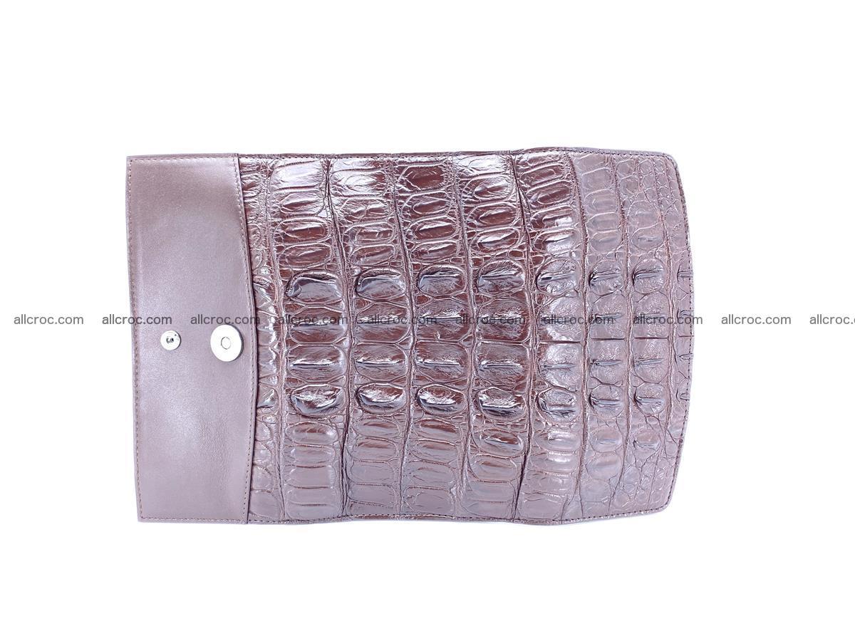 Genuine Crocodile skin trifold wallet, long wallet for women 461 Foto 7