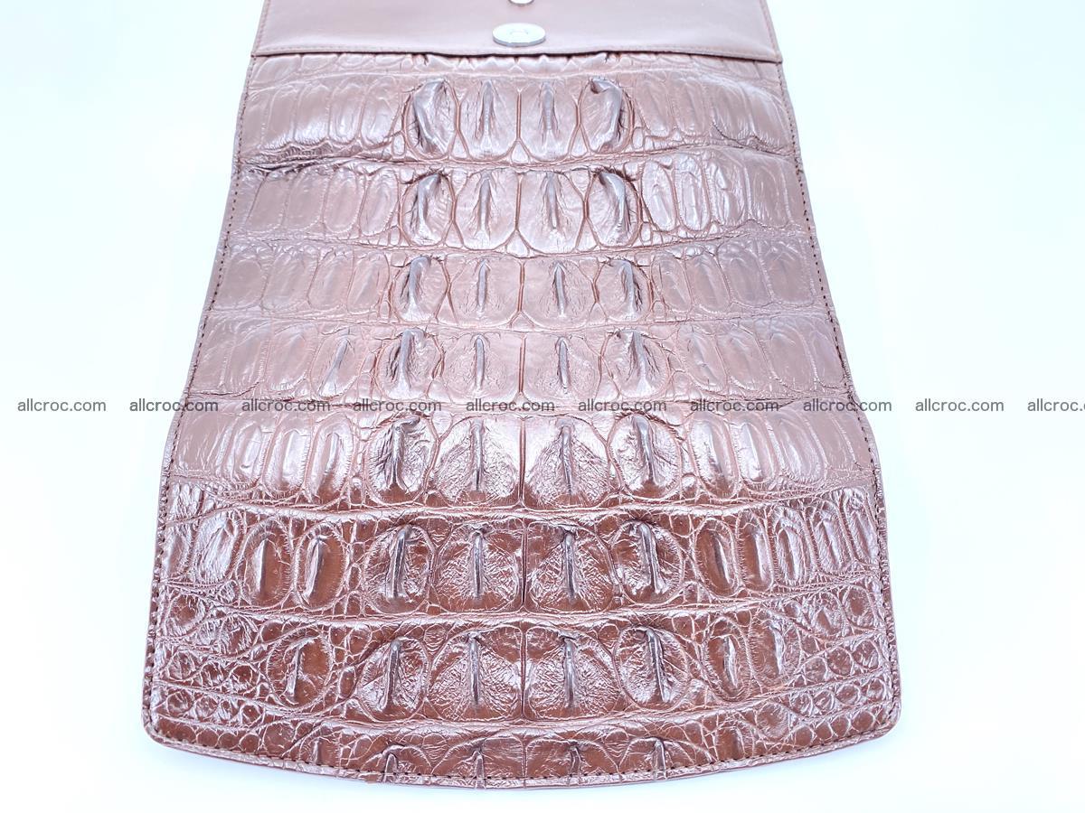 Genuine Crocodile skin trifold wallet, long wallet for women 461 Foto 8