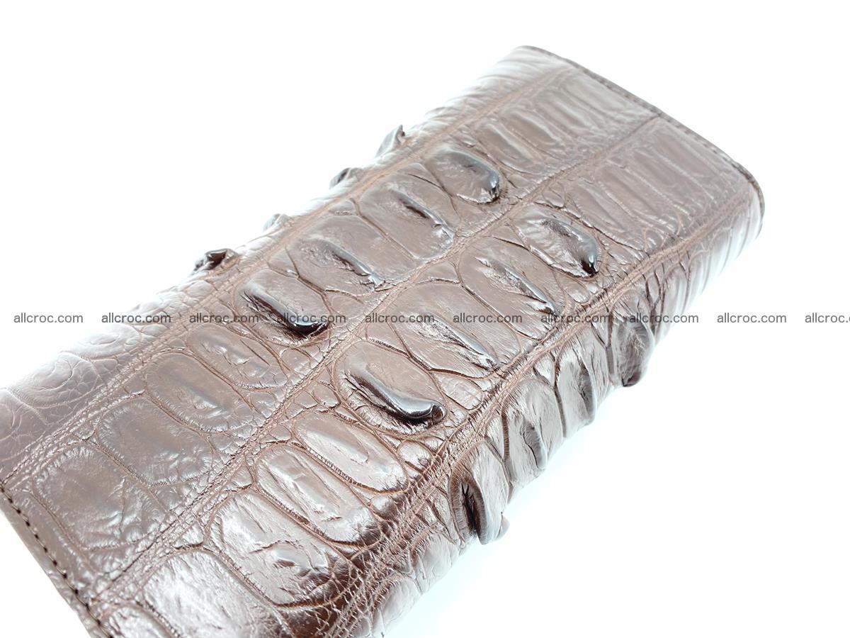 Genuine Crocodile skin trifold wallet, long wallet for women 461 Foto 2