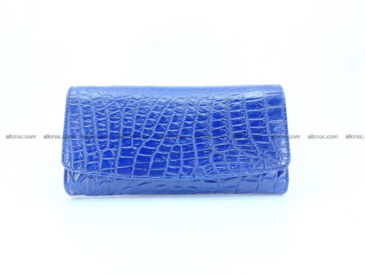 Siamese crocodile skin long wallet for women 469 Foto 0