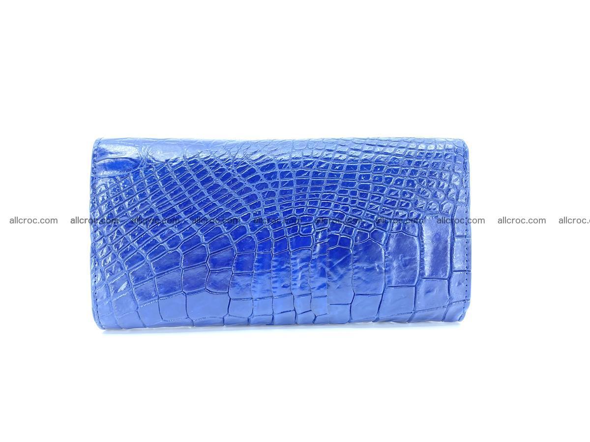 Siamese crocodile skin long wallet for women 469 Foto 1