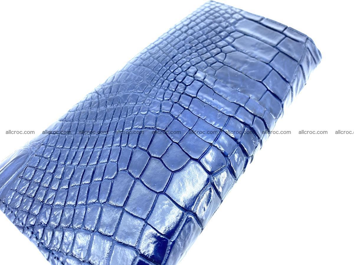 Siamese crocodile skin long wallet for women 469 Foto 3
