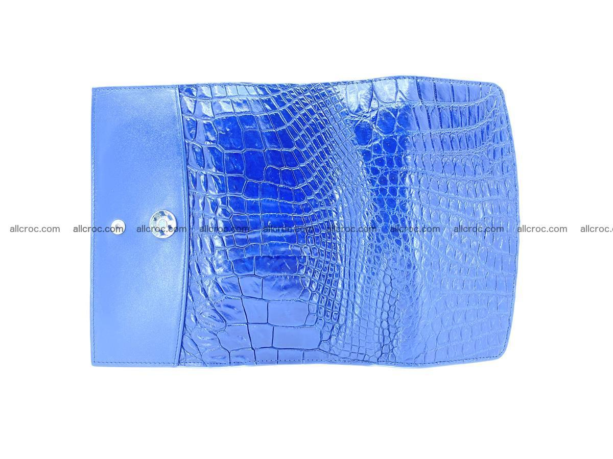Siamese crocodile skin long wallet for women 469 Foto 8