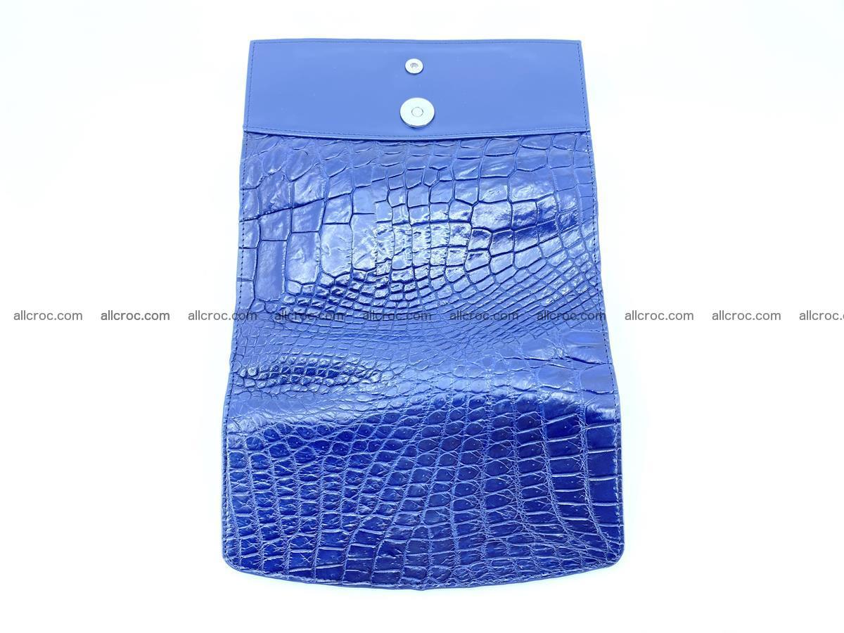 Siamese crocodile skin long wallet for women 469 Foto 9