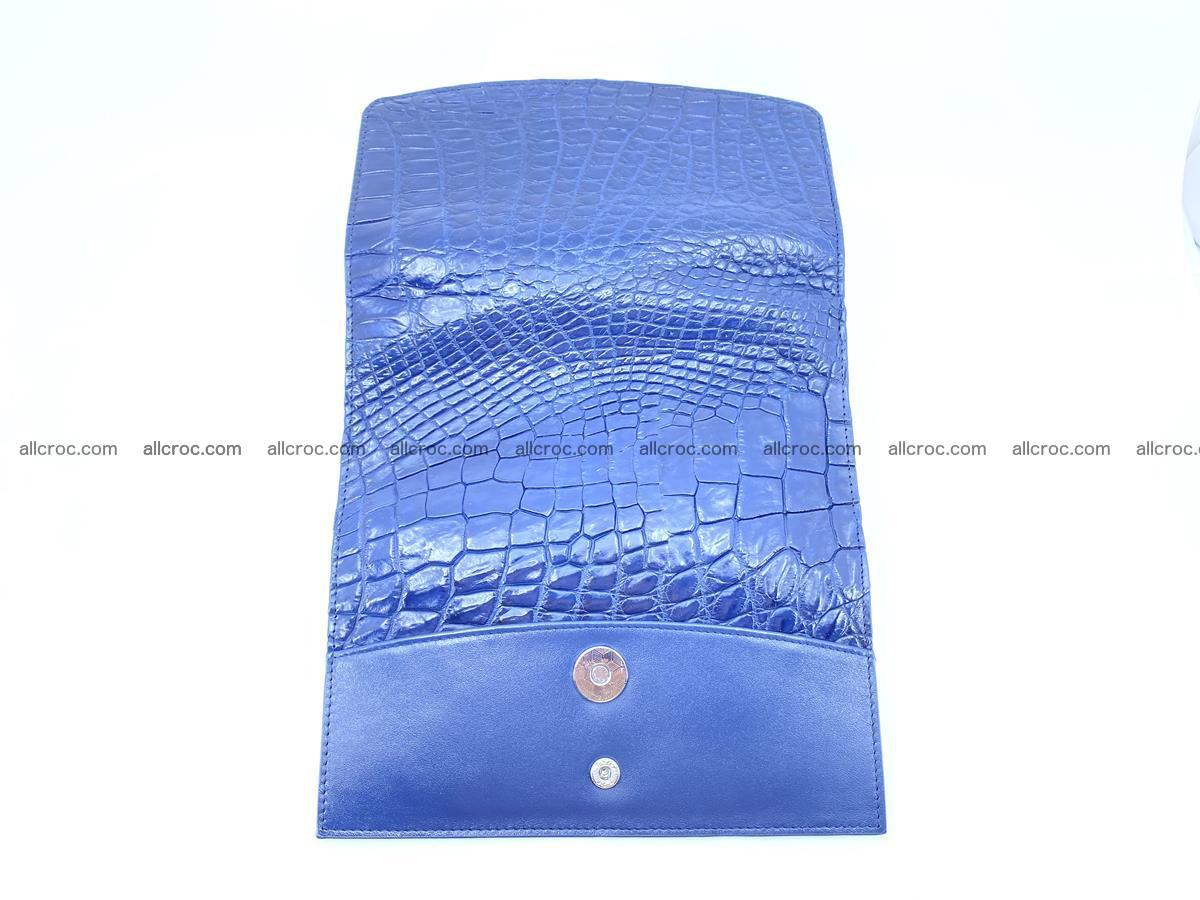 Siamese crocodile skin long wallet for women 469 Foto 7