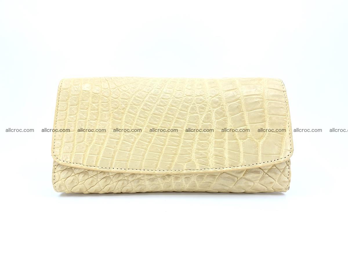 Siamese crocodile skin long wallet for women 477 Foto 0