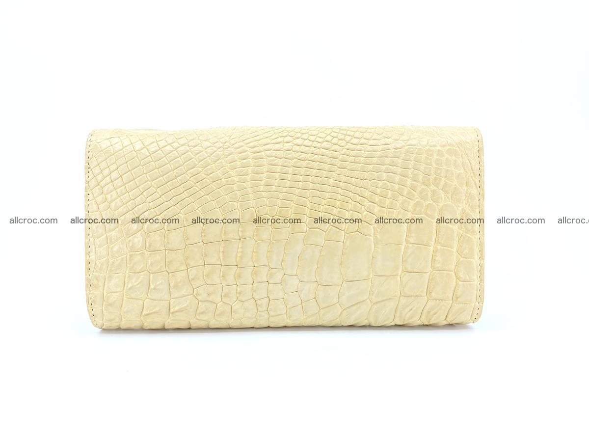 Siamese crocodile skin long wallet for women 477 Foto 1