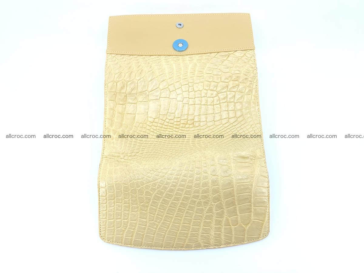 Siamese crocodile skin long wallet for women 477 Foto 8