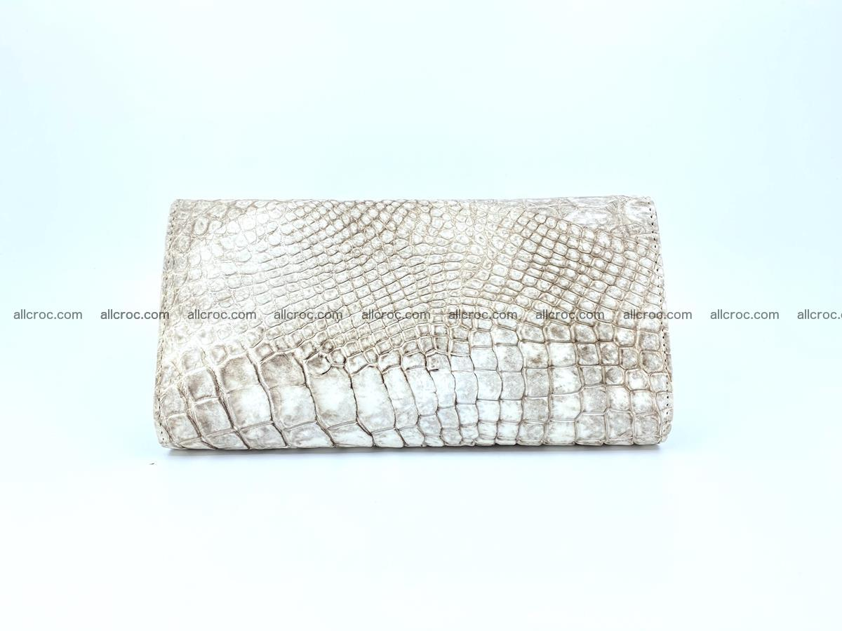 Siamese crocodile skin long wallet for women 459 Foto 1