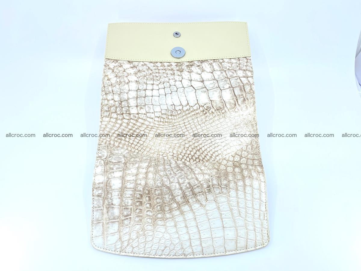 Siamese crocodile skin long wallet for women 459 Foto 9