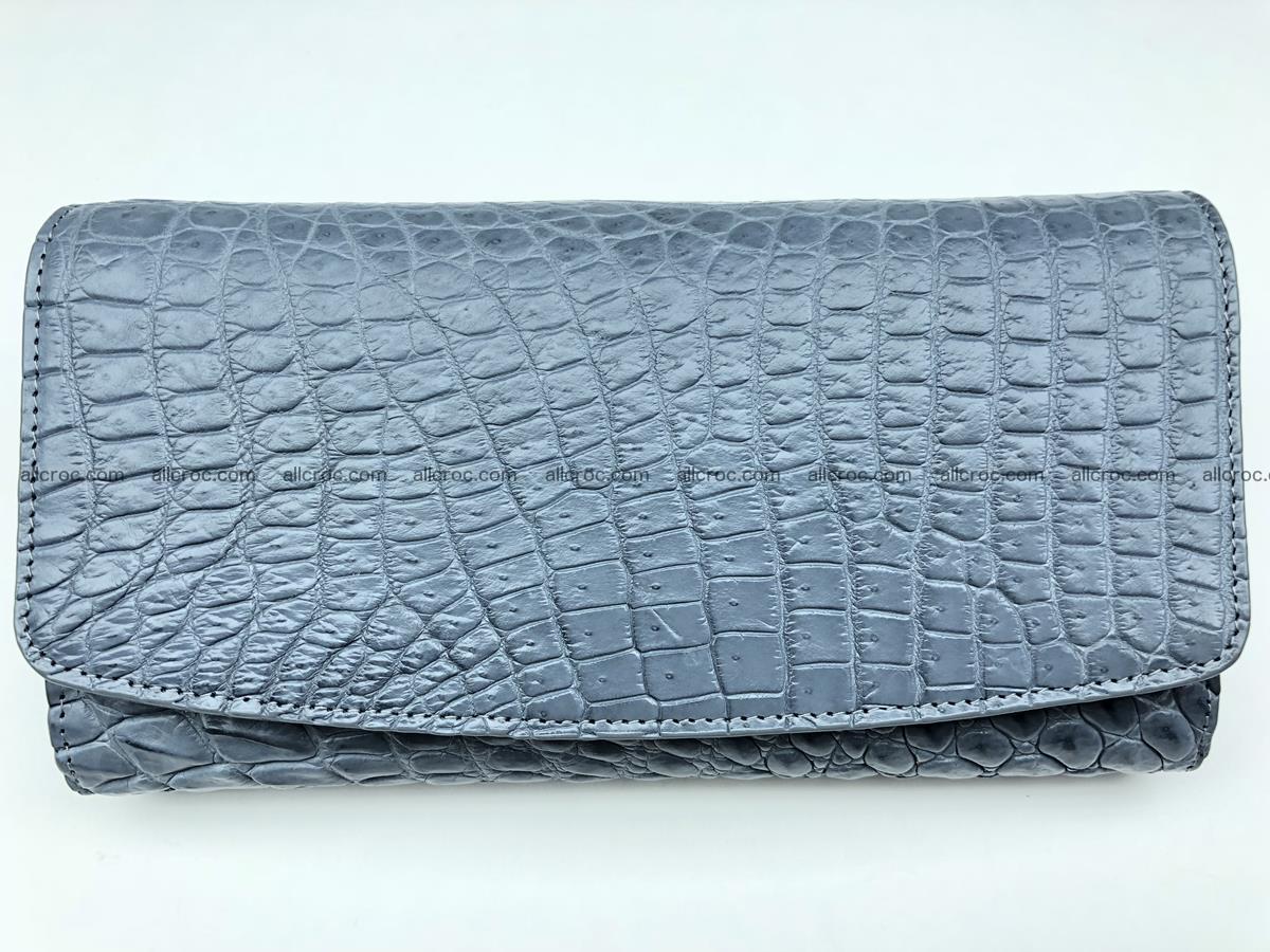 Siamese crocodile skin long wallet for women 474 Foto 0