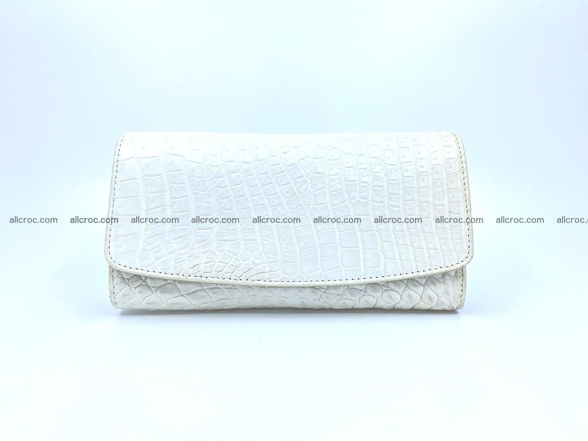 Genuine Crocodile skin wallet, long wallet for women 520 Foto 0