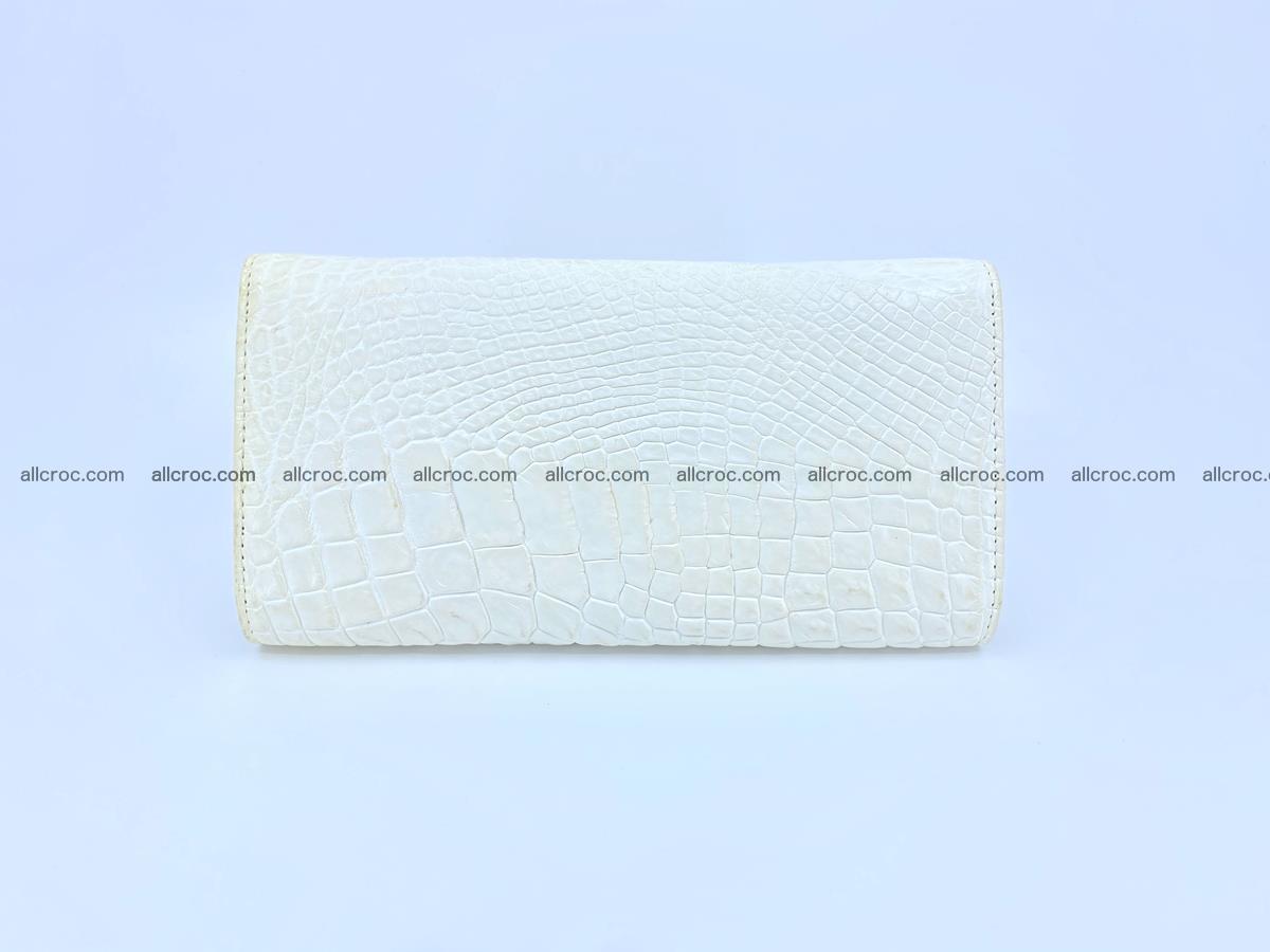 Genuine Crocodile skin wallet, long wallet for women 520 Foto 1