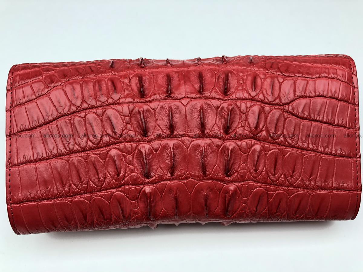 Genuine Crocodile skin wallet, trifold, long wallet for women 453 Foto 1