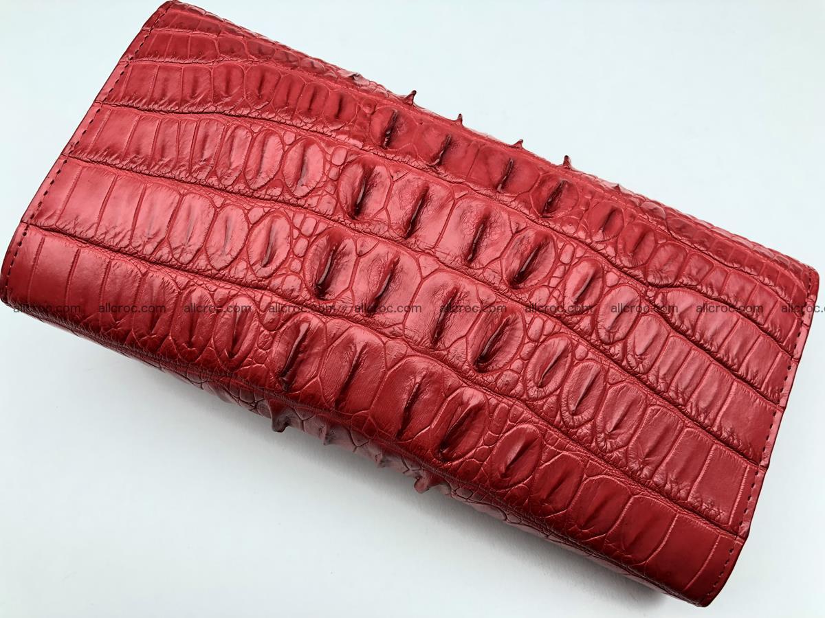 Genuine Crocodile skin wallet, trifold, long wallet for women 453 Foto 3