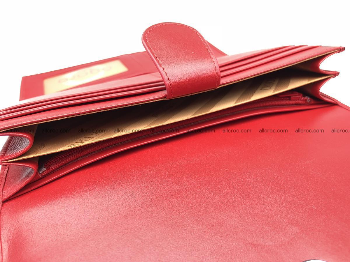 Genuine Crocodile skin wallet, trifold, long wallet for women 453 Foto 11