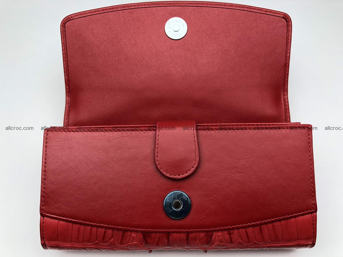 Genuine Crocodile skin wallet, trifold, long wallet for women 453 Foto 4