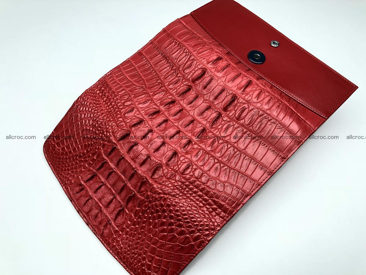 Genuine Crocodile skin wallet, trifold, long wallet for women 453 Foto 5