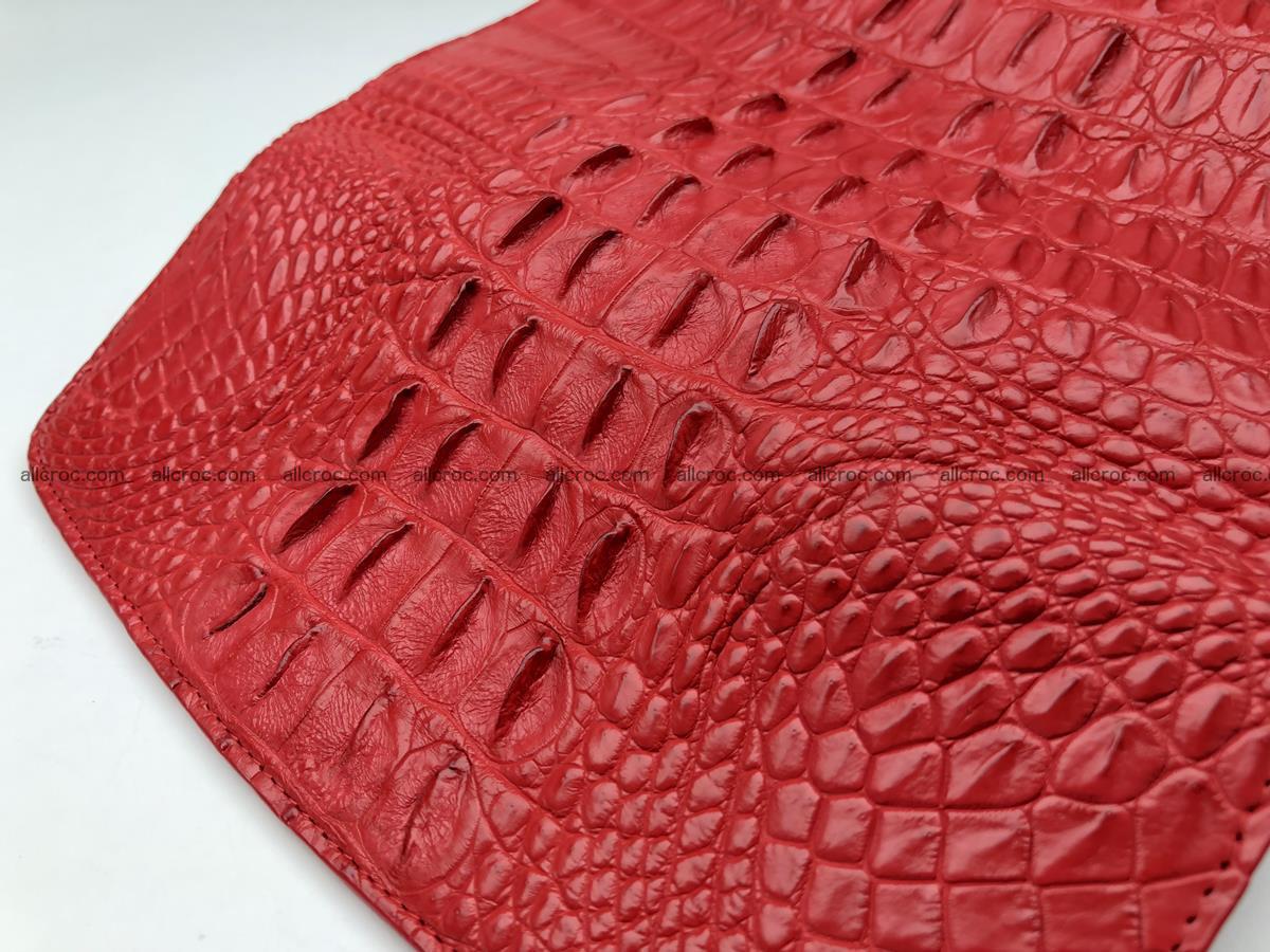 Genuine Crocodile skin wallet, trifold, long wallet for women 453 Foto 7