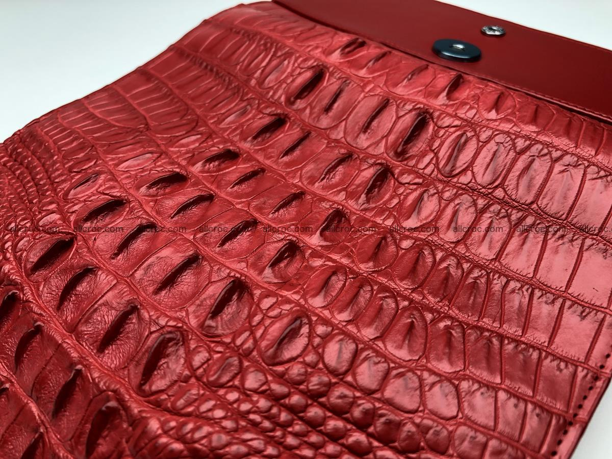 Genuine Crocodile skin wallet, trifold, long wallet for women 453 Foto 6