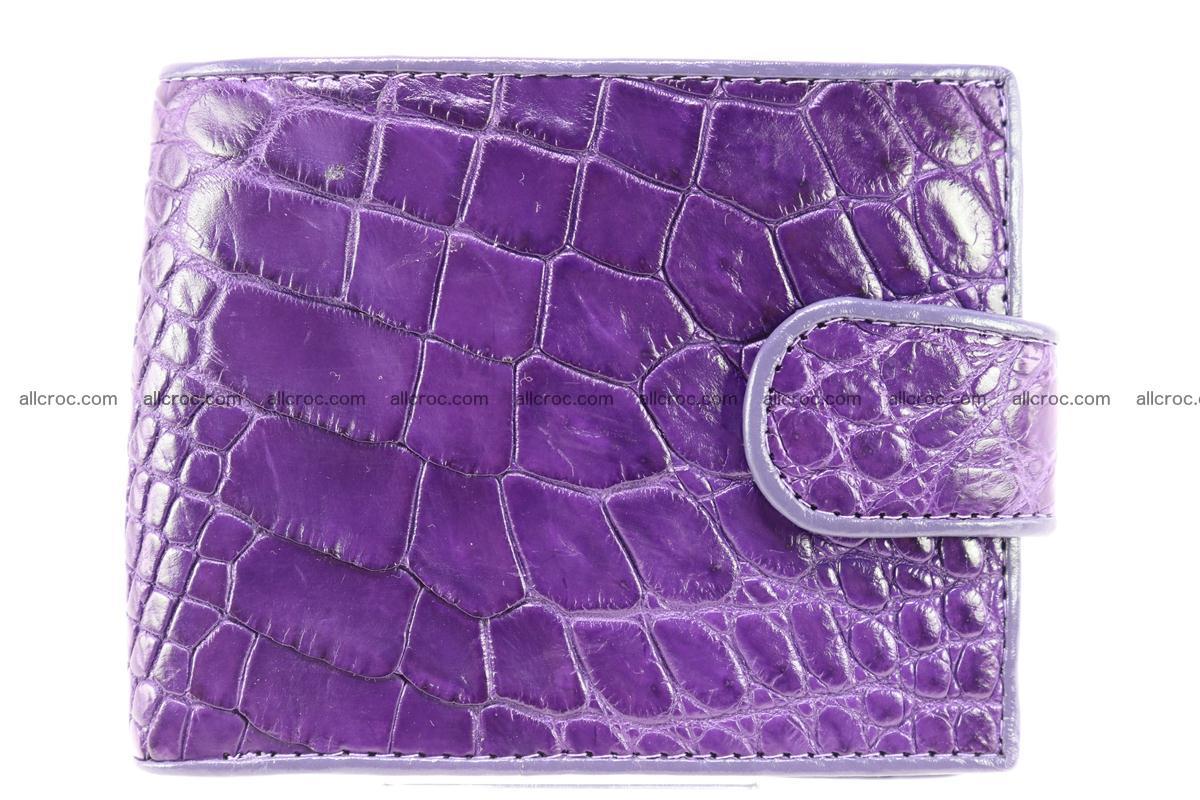 Crocodile skin wallet 232 Foto 0