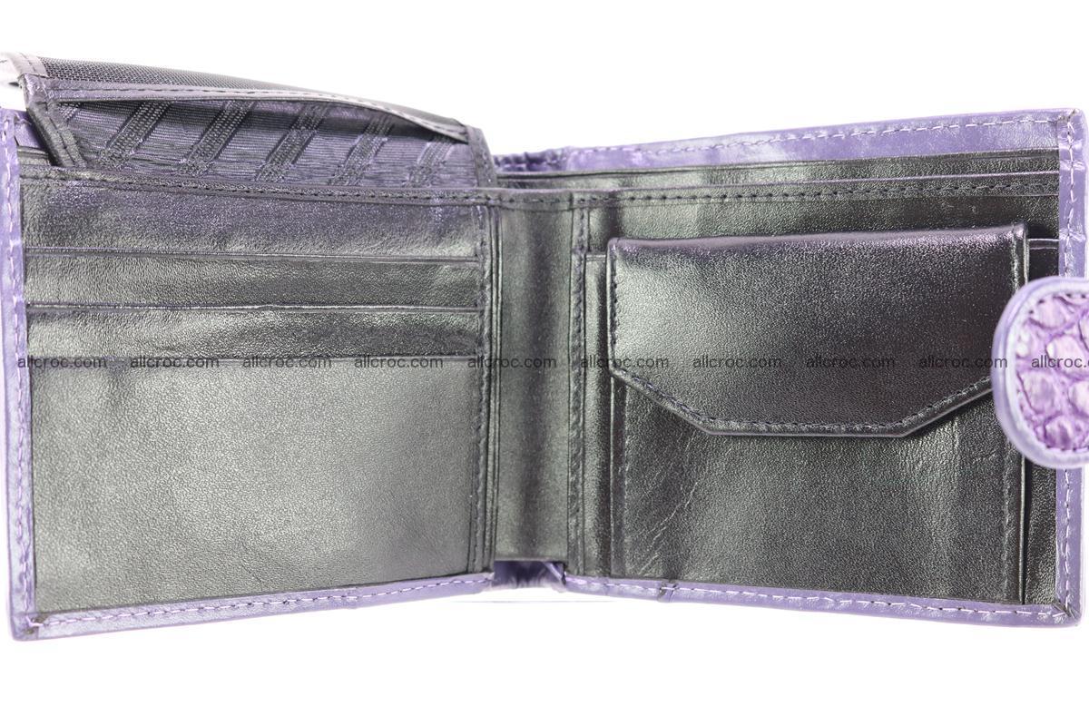 Crocodile skin wallet 232 Foto 5