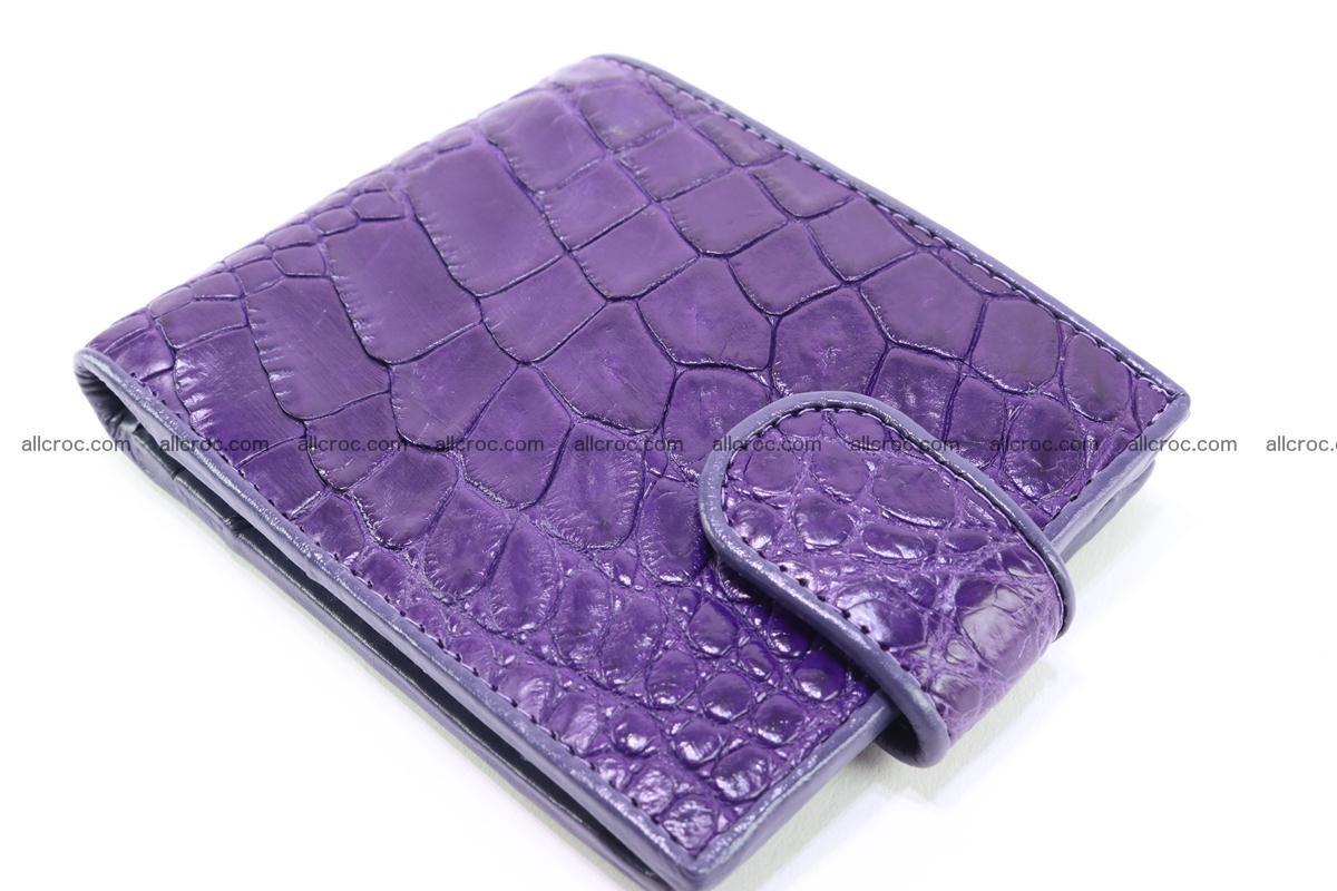 Crocodile skin wallet 232 Foto 3