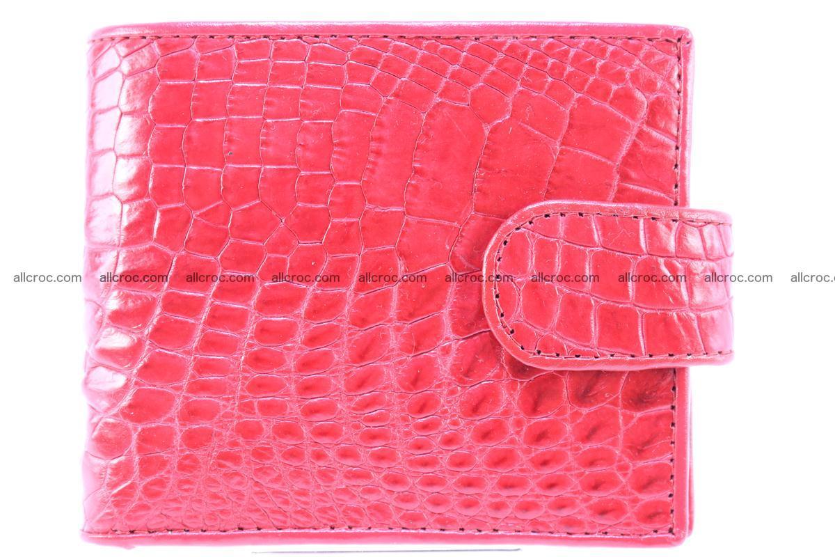 Crocodile skin wallet 234 Foto 0