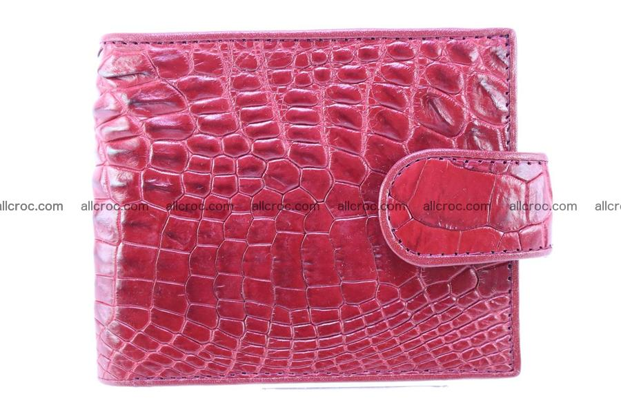 Genuine crocodile wallet with half belt and coin compartment 235