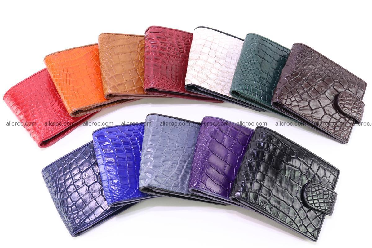 Crocodile skin wallet 228 Foto 7
