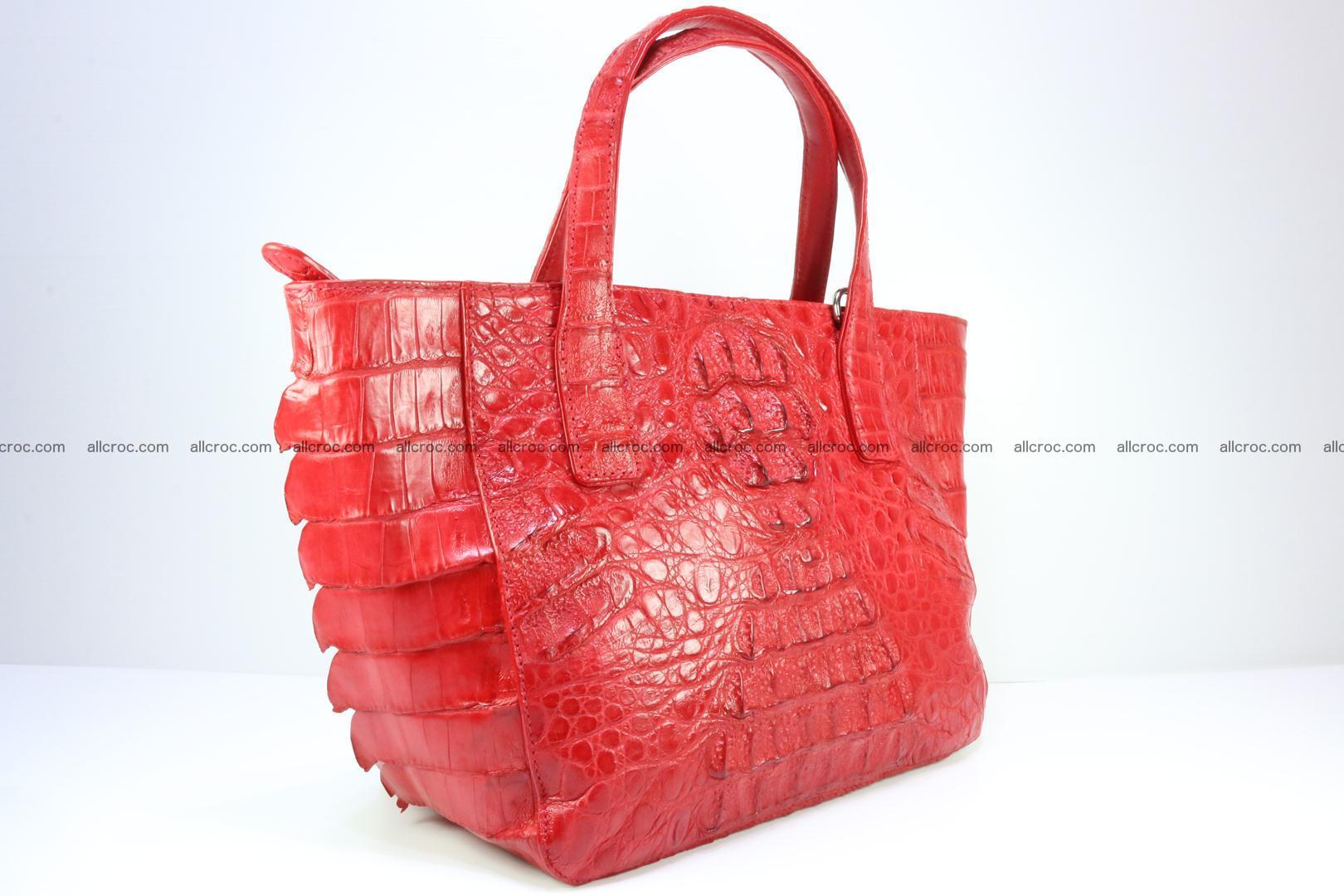 Genuine crocodile women's handbag 052 Foto 2